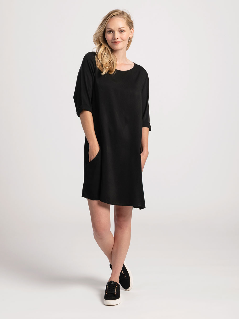 Pocket Dress in Black