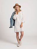 Tie Sleeve Dress image 1