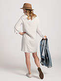 Tie Sleeve Dress image 2