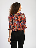 Fluted Sleeve Blouse image 4